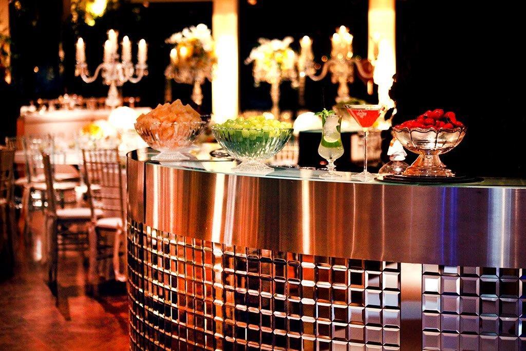 Personalização do open bar para casamentos